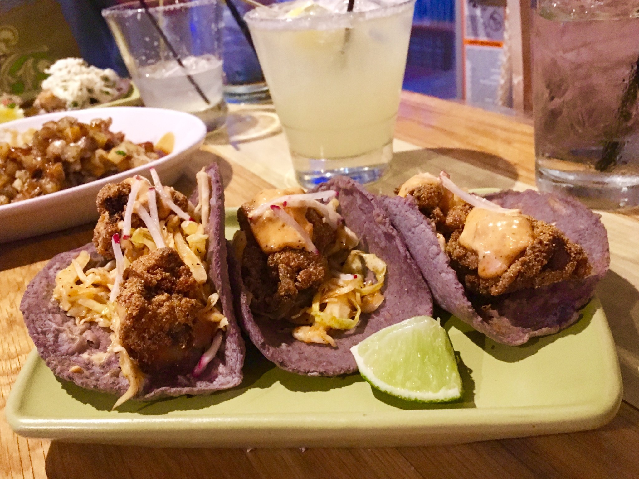babalu's oyster tacos