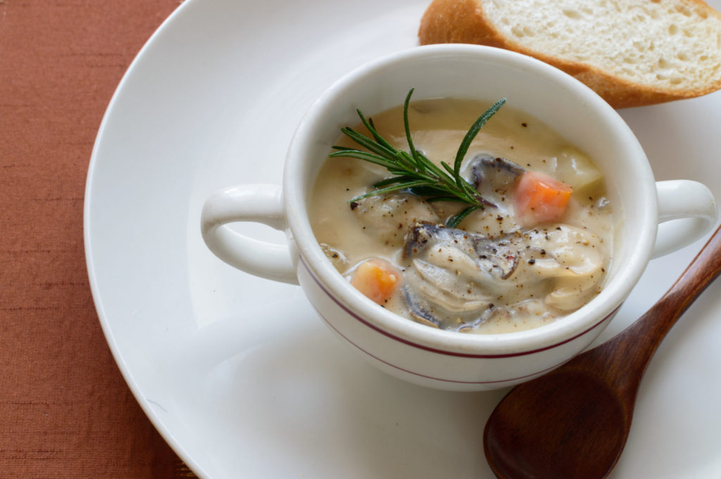 oyster chowder recipes